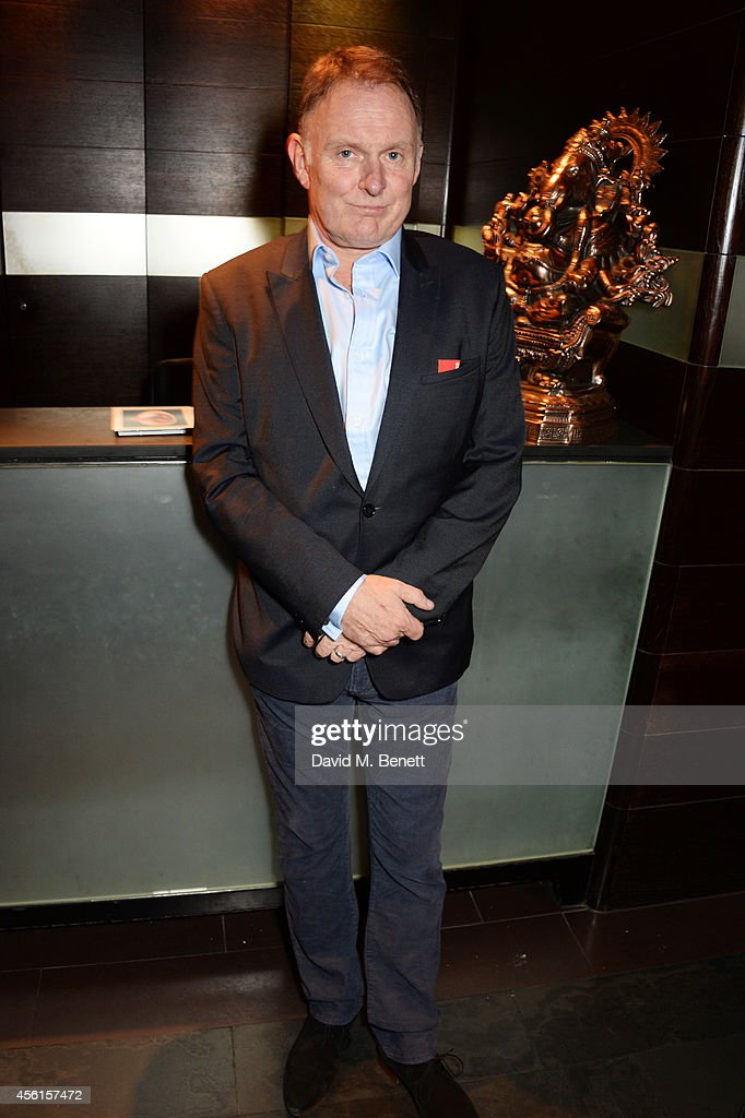 Cast member Robert Glenister attends the press night performance of 'Great Britain' following its transfer to the Theatre Royal Haymarket at Mint Leaf on September 26, 2014 in London, England.