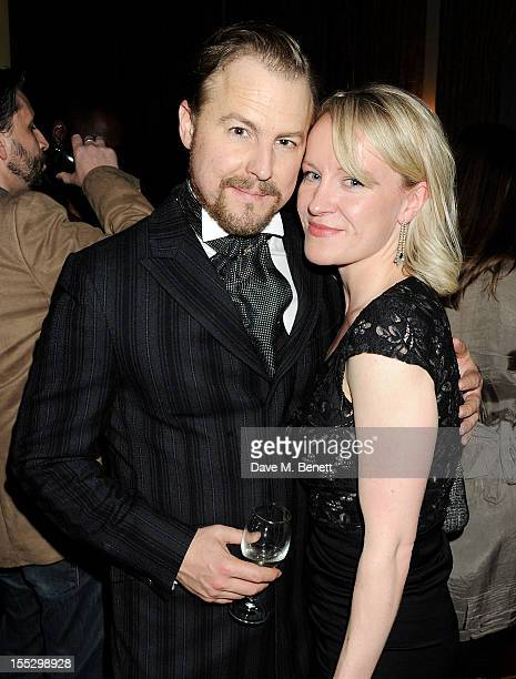 Cast member Samuel West attends an after party following the press night performance of 'Uncle Vanya' at The Charing Cross Hotel on November 2 2012...