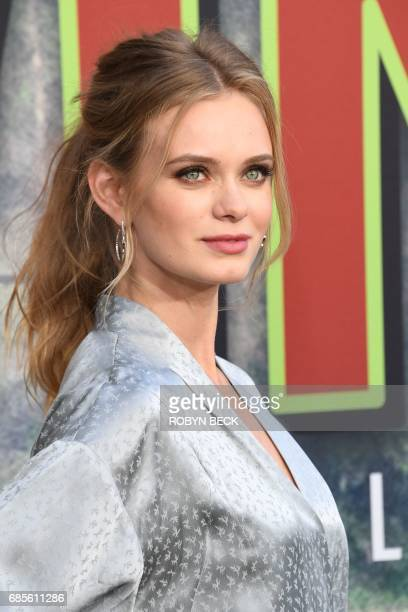 Cast member Sara Paxton attends the world premiere of the Showtime limitedevent series 'Twin Peaks' May 19 2017 at the Ace Hotel in Los Angeles...