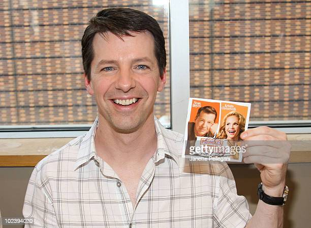 Cast Member Sean Hayes attends the 'Promises Promises' cast album signing at Barnes Noble Lincoln Triangle on June 24 2010 in New York City