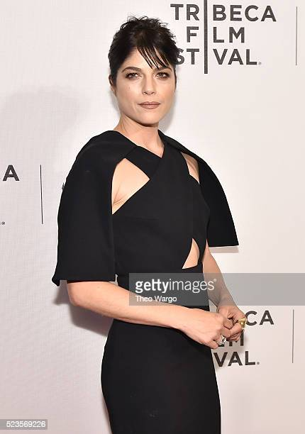Cast member Selma Blair attends 'Geezer' Premiere 2016 Tribeca Film Festival at Spring Studios on April 23 2016 in New York City