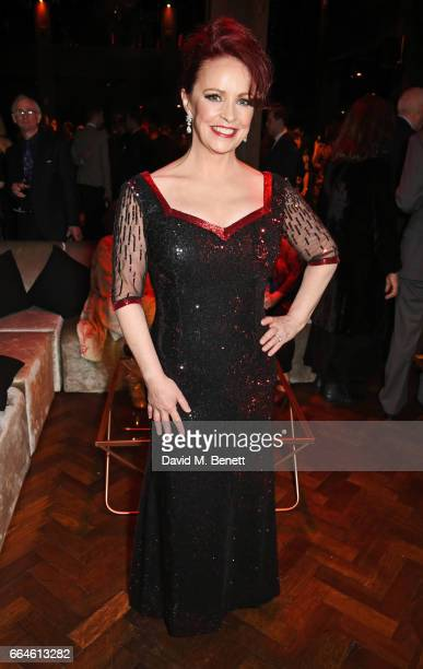 Cast member Sheena Easton attends the opening night after party for '42nd Street' in aid of the East Anglia Children's Hospice at One Embankment on...