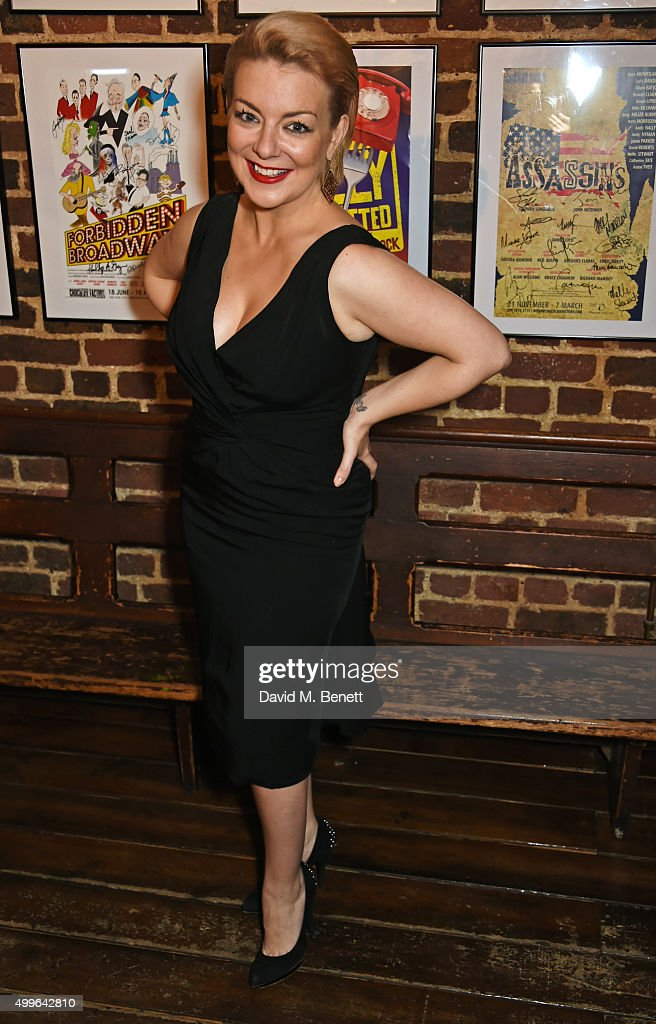Cast member <a gi-track='captionPersonalityLinkClicked' href=/galleries/search?phrase=Sheridan+Smith&family=editorial&specificpeople=4159304 ng-click='$event.stopPropagation()'>Sheridan Smith</a> attends the press night after party for 'Funny Girl' at the Menier Chocolate Factory on December 2, 2015 in London, England.
