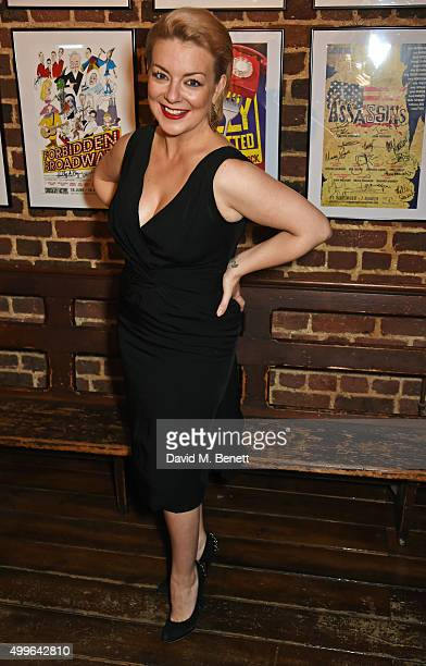 Cast member Sheridan Smith attends the press night after party for 'Funny Girl' at the Menier Chocolate Factory on December 2 2015 in London England