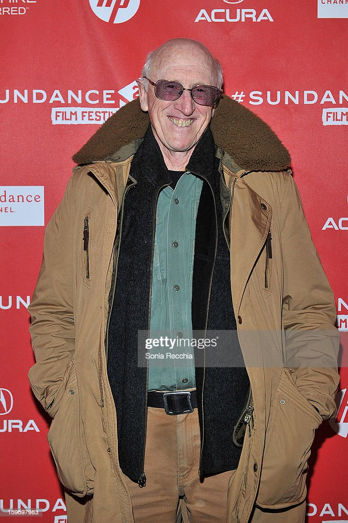 Cast member Stewart Brand attends the 'Pandora's Promise' premiere at Prospector Square during the 2013 Sundance Film Festival on January 18, 2013 in Park City, Utah.