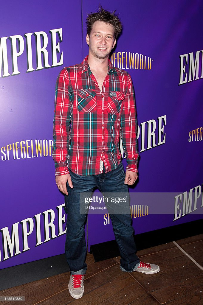 Cast member Vladamir Malachkin attends the 'Empire' Opening Night Curtain Call And After Party at 265 West 45th Street on May 31, 2012 in New York City.