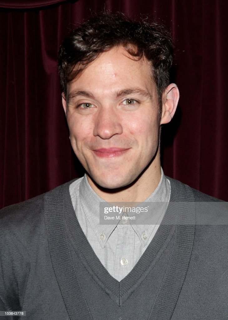 Cast member Will Young attends an after party following the press night performance of 'Cabaret' at Cafe de Paris on October 9, 2012 in London, England.