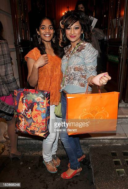 Cast members Amara Karan and Chetna Pandya attend the Press Night performance of the RSC's 'Much Ado About Nothing' at The Noel Coward Theatre on...