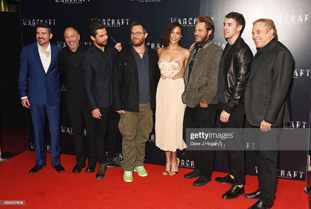 Cast members attend a special screening of 'Warcraft: The Beginning' at BFI IMAX on May 25, 2016 in London, England.