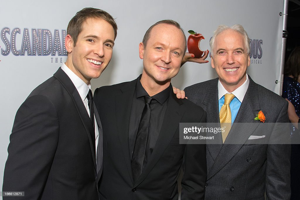 Cast members attend the 'Scandalous' Broadway Opening Night after party at Copacabana on November 15, 2012 in New York City.