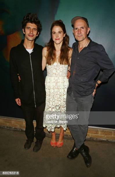 Cast members Ben Whishaw Amanda Hale and director Ian Rickson attend the press night after party for 'Against' at The Almeida Theatre on August 18...