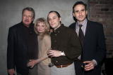 Cast members Brian Murray Martha Plimpton and David Aaron Baker with director David Warren at the opening night party for 'Hobson's Choice' at Rhone...