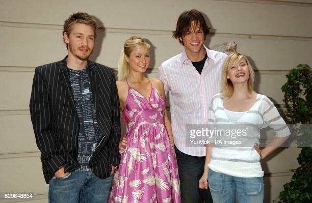 cast members Chad Michael Murray Paris Hilton Jared Padalecki and Elisha Cuthbert