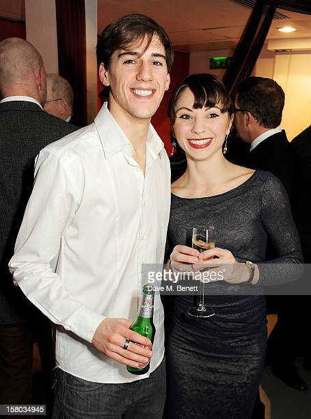Cast members Dominic North and Hannah Vassallo attend an after party following the press night performance of Matthew Bourne's Sleeping Beauty at...