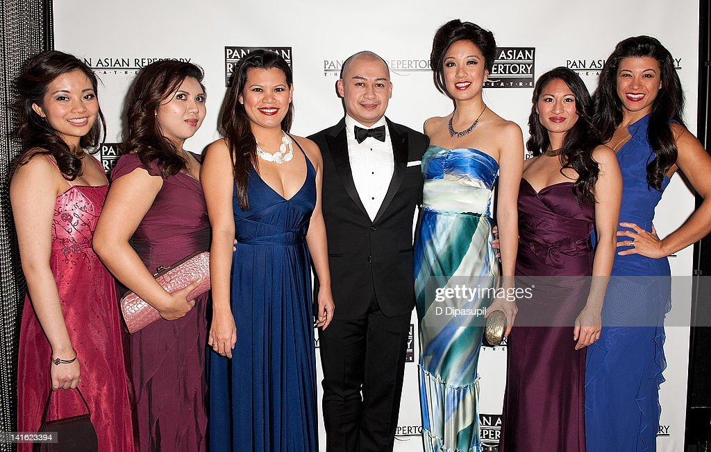 Cast members from the musical Imelda attend 'Legacy And Homecoming' the Pan Asian Repertory's 35th Anniversary Gala at The Edison Ballroom on March 19, 2012 in New York City.