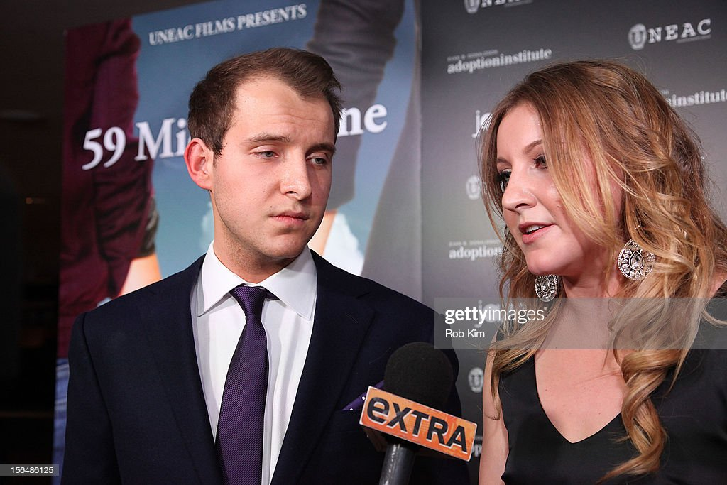 Cast members Greg Ammon and Alexa Ammon attend '59 Middle Lane' New York Benefit Screening at Jazz at Lincoln Center on November 15, 2012 in New York City.