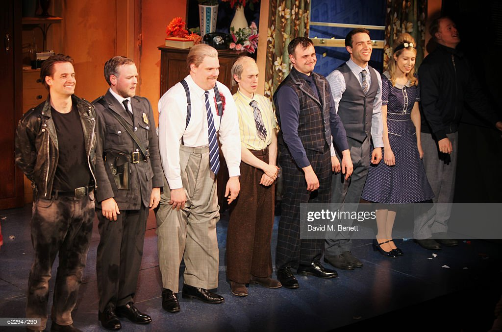 quotthe comedy about a bank robberyquot press night curtain