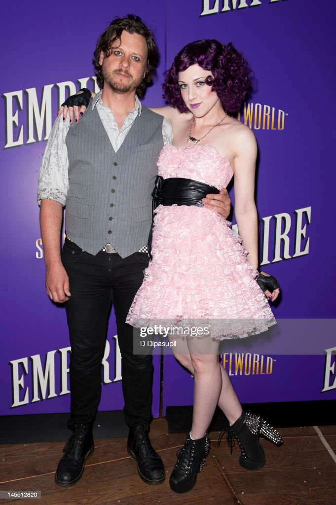 Cast members Martin Hailey (L) and Lena Hall attend the 'Empire' Opening Night Curtain Call And After Party at 265 West 45th Street on May 31, 2012 in New York City.