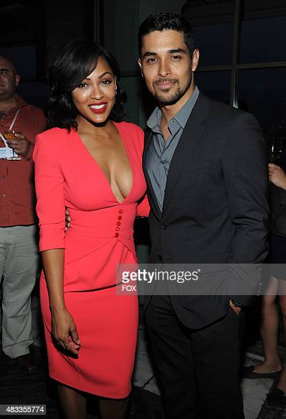 cast members Meagan Good and Wilmer Valderrama celebrate at the 2015 FOX ALLSTAR PARTY Thursday Aug 6 at a private membersonly club in West Hollywood...