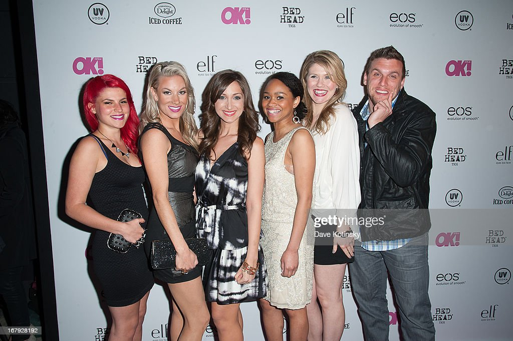 Cast members of MTV's Girl Code attend OK! Magazine 'So Sexy' Party at Marquee on May 1, 2013 in New York City.