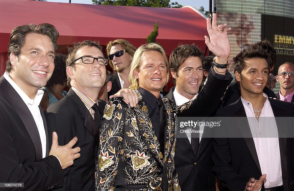Cast Members of 'Queer Eye for the Straight Guy' during 55th Annual Primetime Emmy Awards - Arrivals at The Shrine Auditorium in Los Angeles, California, United States.