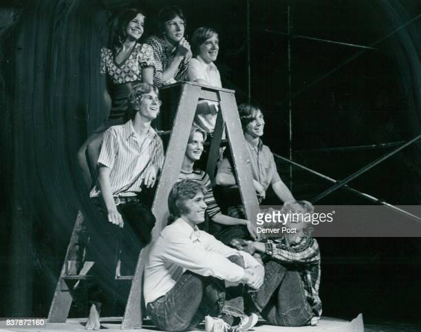 Cast Members of 'The Fantastics' They are from left top row Sheryl Hannah as Louisa Chip Frye as EI Gallo Lon Hayne as Matt center row John Martin as...