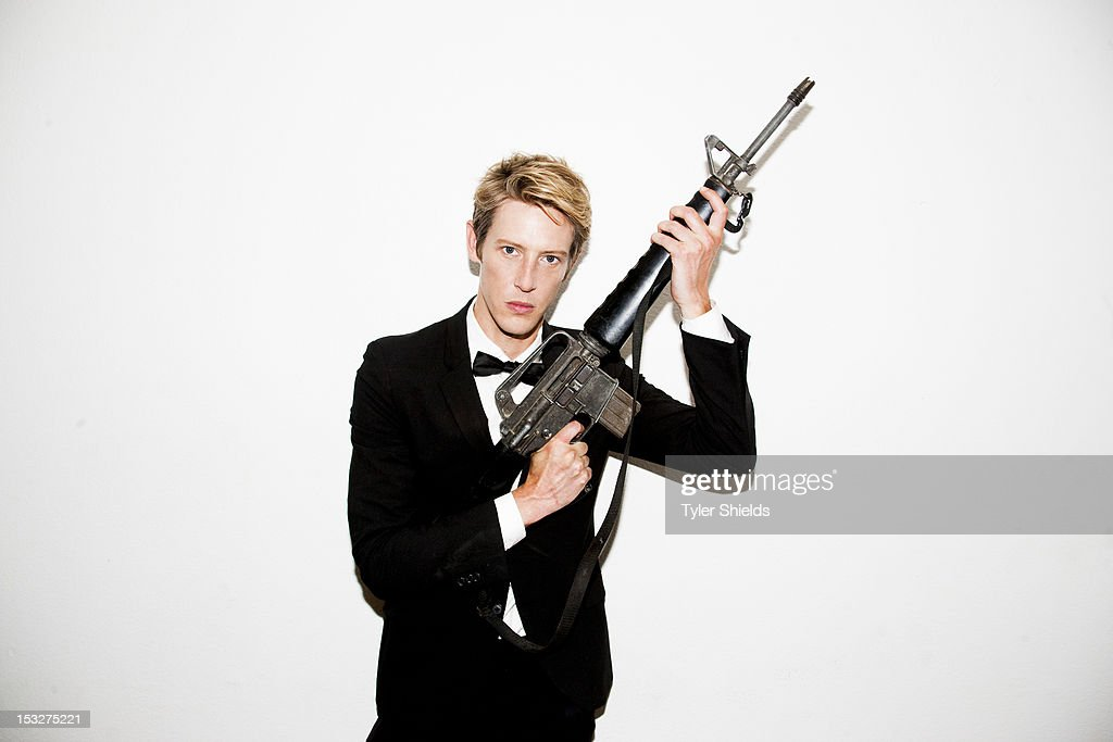 cast members of the tv show revenge gabriel mann is photographed for
