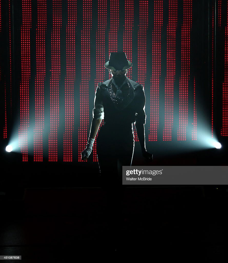 Cast members perform Michael Jackson in Broadway Cares/Equity Fights AIDS' 'Broadway Bares, Rock Hard!' at Hammerstein Ballroom June 22, 2014 in New York City.