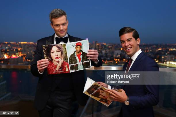 Cast members Ryan Serhant and Luis D Ortiz attend the 3rd season premiere of 'Million Dollar Listing New York' hosted by Vulture and Bravo at Andaz...