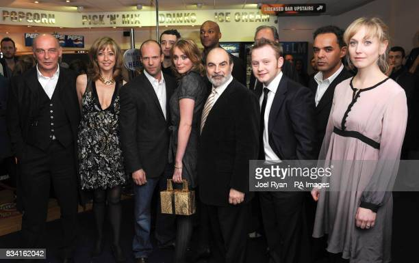 Cast members Sharon Maughan Jason Statham Daniel Mays Keeley Hawes Colin Salmon David Suchet Michael Jibson Peter De Jersey Hattie Morahan arrive for...