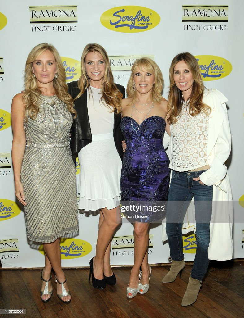 Cast members Sonja Morgan Heather Thomson Ramona Singer and Carole Radziwill attend 'The Real Housewives Of New York City' Season 5 Premiere Viewing...