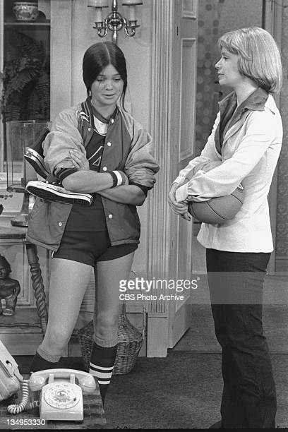 TIME cast members Valerie Bertinelli as Barbara Cooper and Bonnie Franklin as Ann Romano Royer