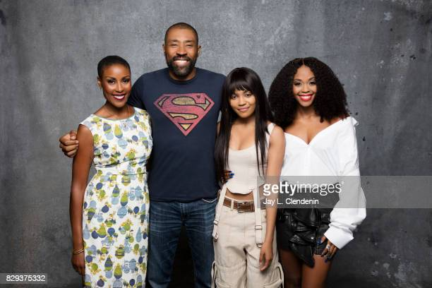 Cast of 'Black Lightning' are photographed in the LA Times photo studio at ComicCon 2017 in San Diego CA on July 22 2017 CREDIT MUST READ Jay L...