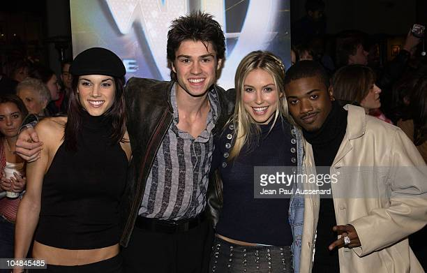 Cast of 'Blacksash'Missy Peregrym Corey Sevier Sarah Carter Ray J