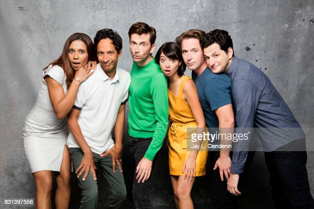 Cast of 'DuckTales' are photographed in the LA Times photo studio at ComicCon 2017 in San Diego CA on July 21 2017 CREDIT MUST READ Jay L...
