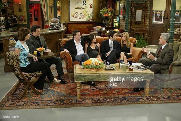 LENO Cast of Friends Air Date Episode 2705 Pictured Cast of Friends Lisa Kudrow Matt LeBlanc Matthew Perry Courteney Cox David Schwimmer Jennifer...