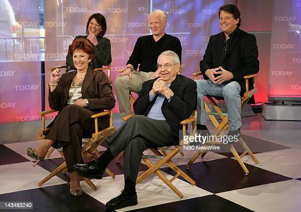 TODAY Cast of 'Happy Days' Air Date 2/25/08 Pictured The cast of 'Happy Days' Erin Moran Don Most Anson Williams Tom Bosley and Marion Ross reunite...