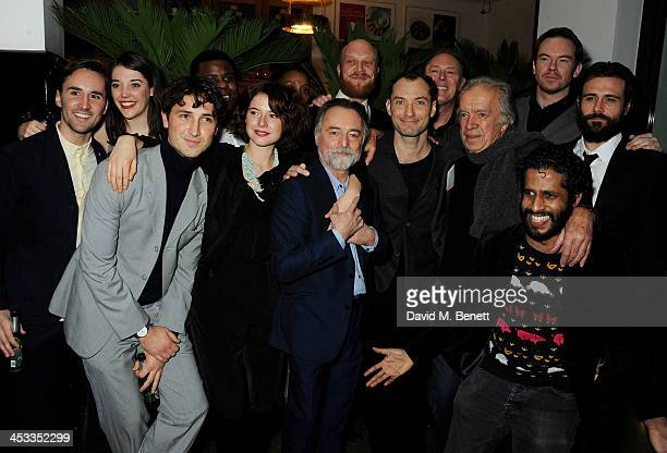 Cast of Henry V including Fred Lancaster Maddie Rice Ben LloydHughes Ashley Zhangazha Jessie Buckley Noma Dumezweni Ron Cook Harry Attwell Jude Law...