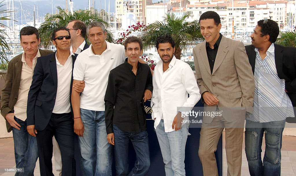 Cast of 'Indigenes' during 2006 Cannes Film Festival - 'Indigenes' - Photocall at Palais des Festival in Cannes, France.