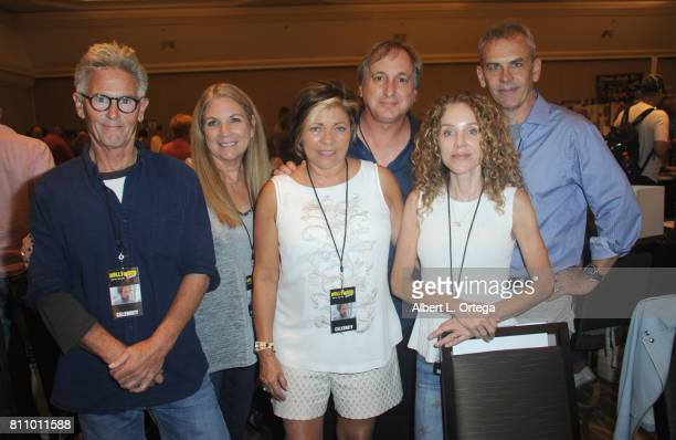 Cast of 'Jaws 2' sign autographs at The Hollywood Show held at Westin LAX Hotel on July 8 2017 in Los Angeles California