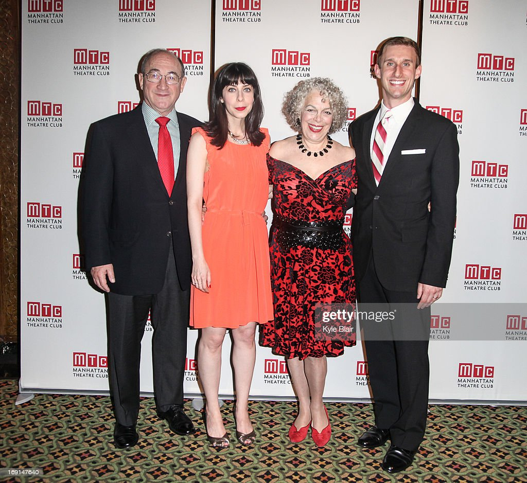 Cast of Kinky Boots attends the Manhattan Theatre Club 2013 Spring Gala at Cipriani 42nd Street on May 20, 2013 in New York City.