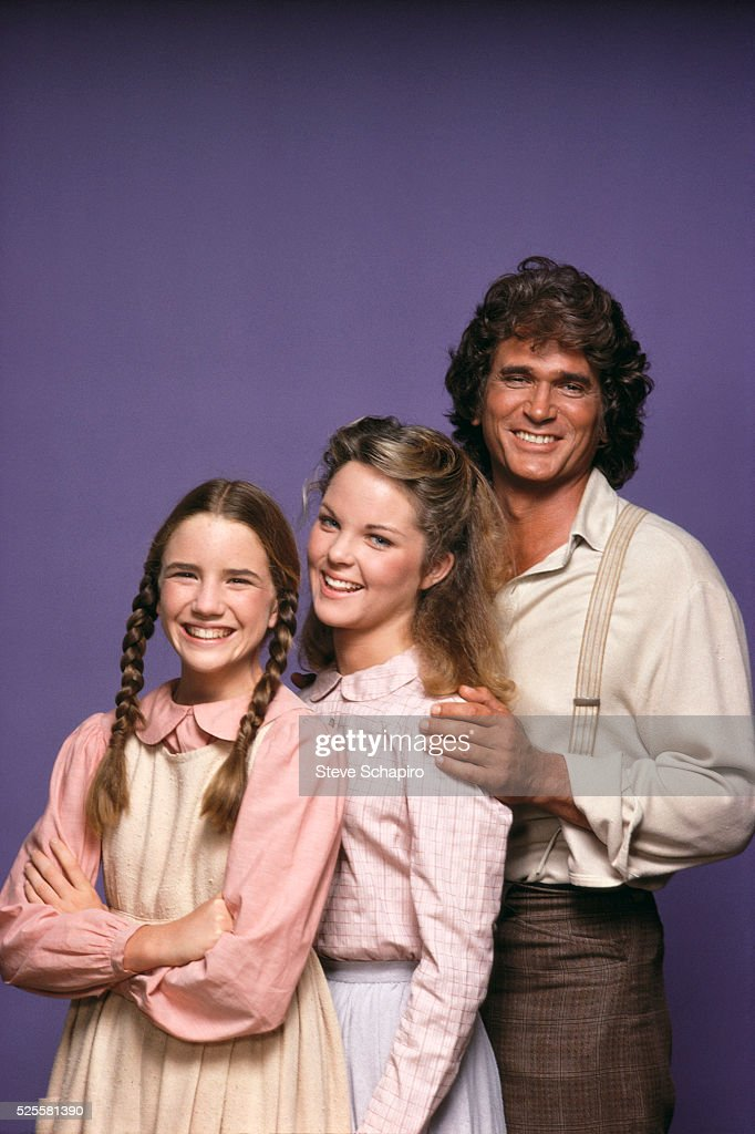 <a gi-track='captionPersonalityLinkClicked' href=/galleries/search?phrase=Melissa+Gilbert&family=editorial&specificpeople=203284 ng-click='$event.stopPropagation()'>Melissa Gilbert</a>, Melissa Sue Anderson and <a gi-track='captionPersonalityLinkClicked' href=/galleries/search?phrase=Michael+Landon&family=editorial&specificpeople=228407 ng-click='$event.stopPropagation()'>Michael Landon</a>.