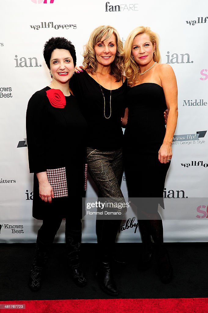 Cast of Mamma Mia Lauren 'Coco' Cohn, Judy McLane and Felicia Finley attend the Stage17 Premiere at Walter Reade Theater on March 31, 2014 in New York City.