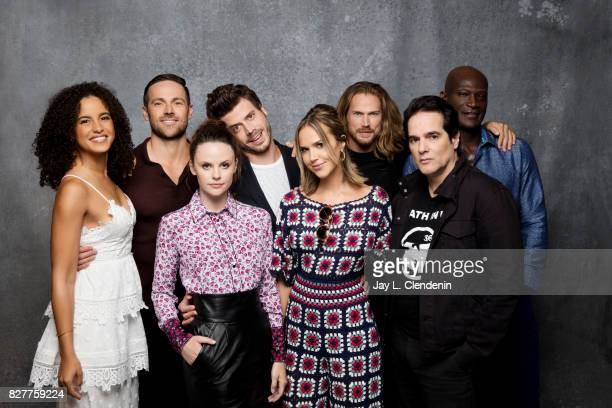 Cast of 'Midnight Texas' are photographed in the LA Times photo studio at ComicCon 2017 in San Diego CA on July 22 2017 CREDIT MUST READ Jay L...