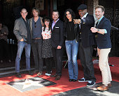 Cast of 'NCIS Los Angeles' LtoR Miguel Ferrer Eric Christian Olsen Renée Felice Smith Chris O'Donnell Daniela Ruah LL Cool J and Barret Foa at the...