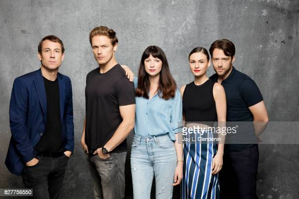 Cast of 'Outlander' are photographed in the LA Times photo studio at ComicCon 2017 in San Diego CA on July 22 2017 CREDIT MUST READ Jay L...