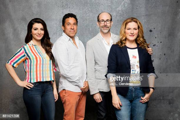 Cast of 'People of Earth' are photographed in the LA Times photo studio at ComicCon 2017 in San Diego CA on July 21 2017 CREDIT MUST READ Jay L...
