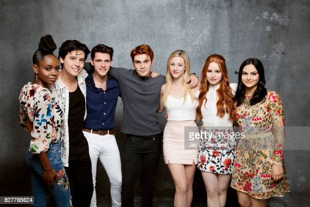 Cast of 'Riverdale' are photographed in the LA Times photo studio at ComicCon 2017 in San Diego CA on July 22 2017 CREDIT MUST READ Jay L...