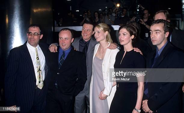 Cast of Sliding Doors Gwyneth Paltrow Jeanne Tripplehorn and John Hannah