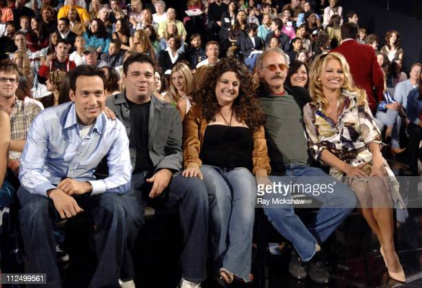 Cast of 'Stacked' Elon Gold Brian Scolaro Marissa Jaret Winokur Christopher Lloyd and Pamela Anderson